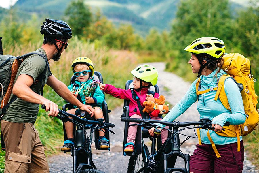 Family Cycling Killarney